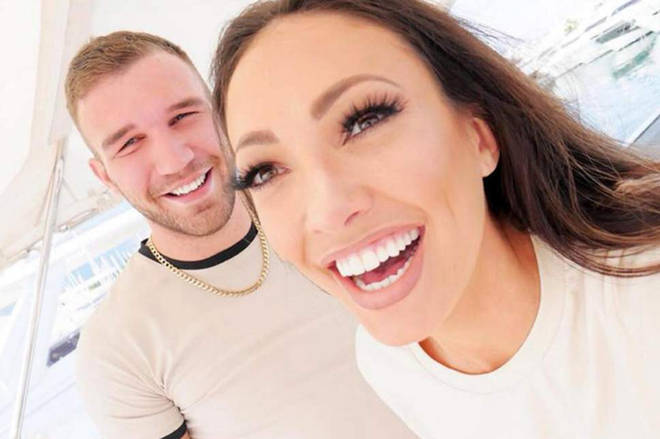 Sophie Gradon's boyfriend Aaron Armstrong 20 days after he found her