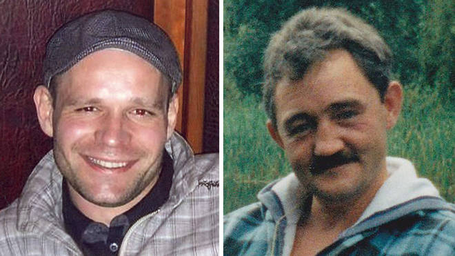 Among Joanna Dennehy's murder victims were Lukasz Slaboszewski (left) and John Chapman (right)