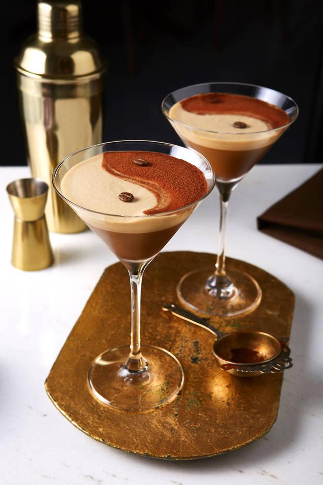 This twist on the espresso martini will go down a treat