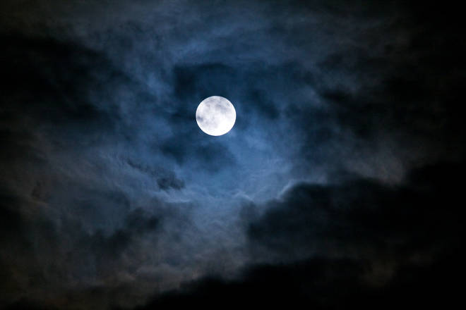 Despite its name, the moon will not actually look pink (stock image)