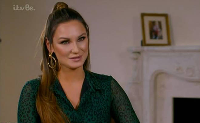 Sam Faiers spoke about boyfriend Paul's decision not to share a bed with her in last night's episode