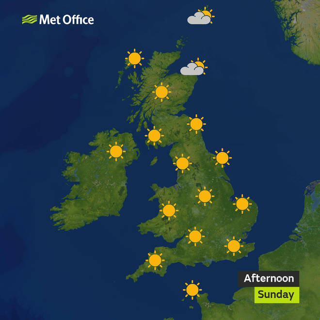 The Easter weekend is upon us - and it's set to be a scorcher!