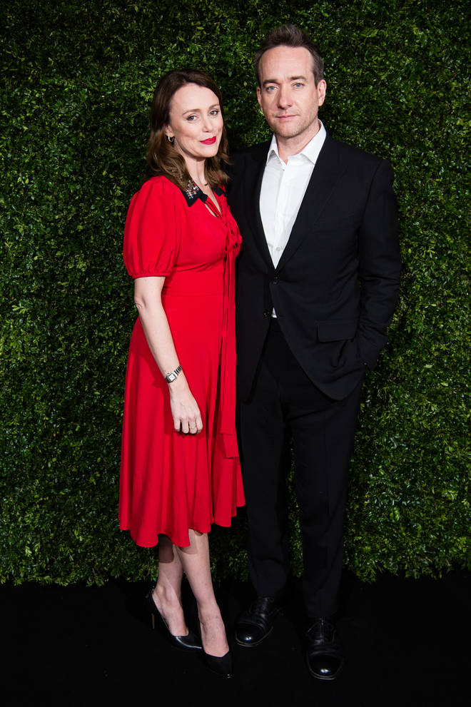 Keeley has been married to husband Matthew Macfadyen since 2004