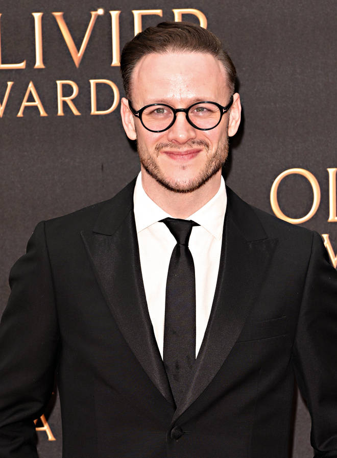 Kevin Clifton seen on the red carpet during The Olivier...