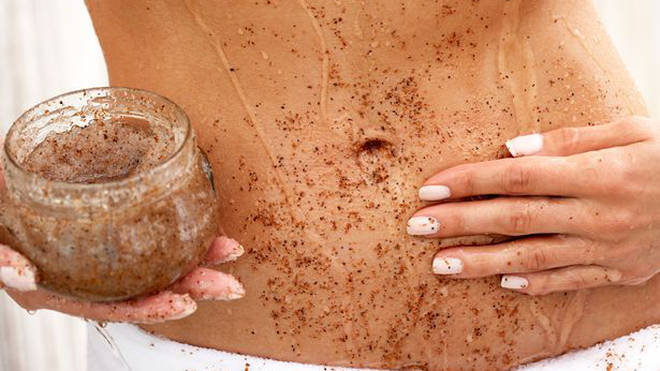 Get rid of dead skin cells and use an exfoliator to help create an even tan