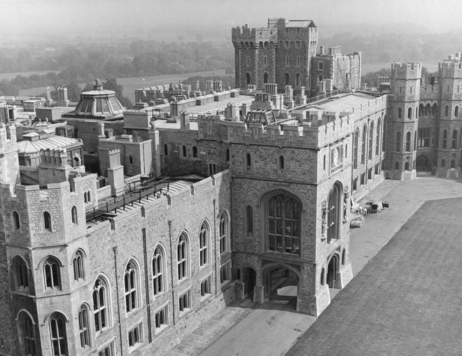 The Royal Apartments at Windsor Castle