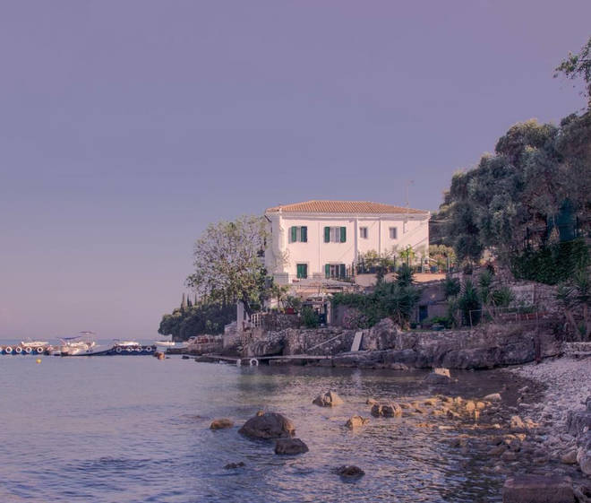 The White House in Corfu.