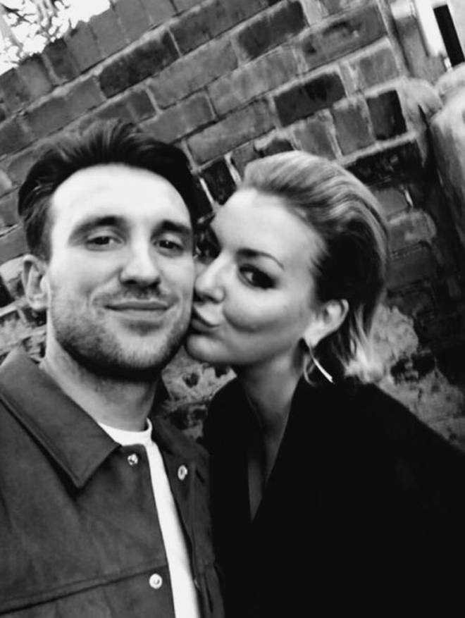 "Sheridan posted a sweet photo of the loved-up couple on Twitter with the caption: ""Bank holiday pouting with the hubby."""