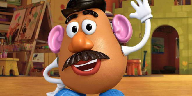 Mr Potato Head will be voiced using old sound recordings from the previous films