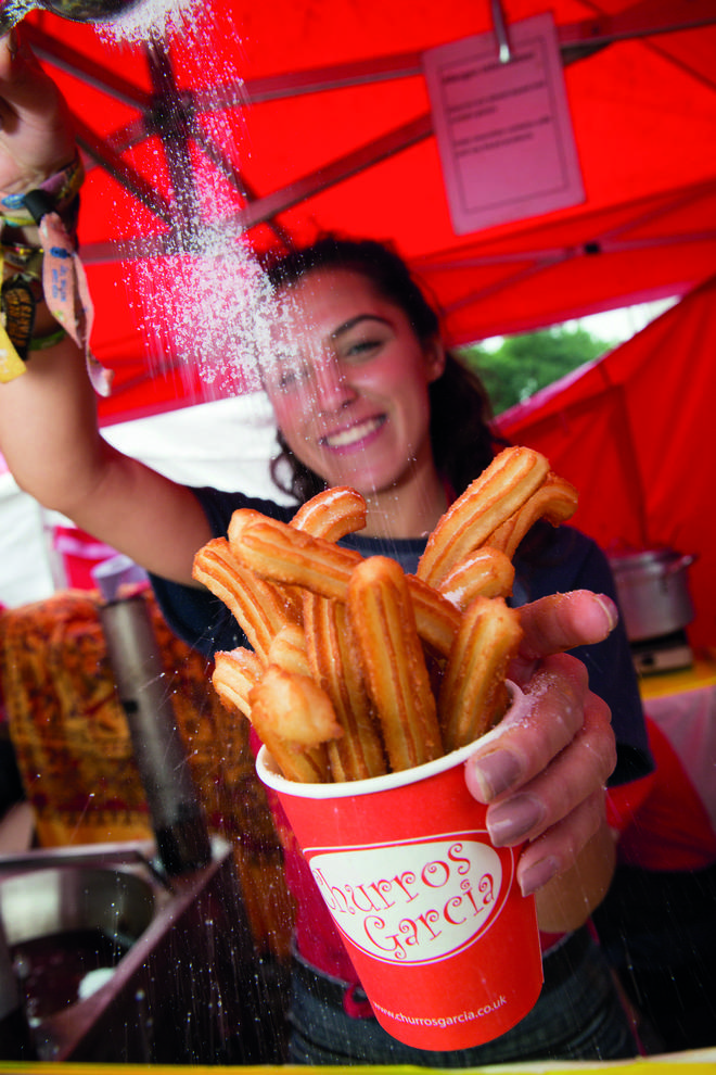 There will be plenty of delicious street food stalls... churros anyone?