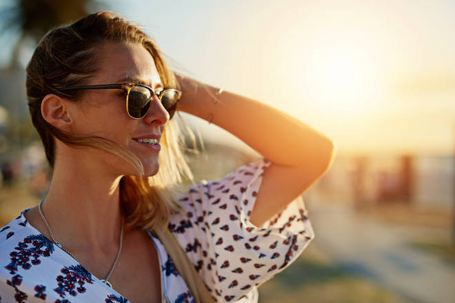 Millions of Brits are putting their eye health at risk with their sunglasses, it has been warned (stock image)
