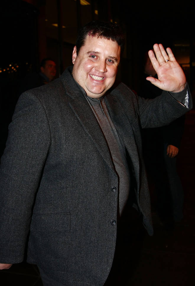 Peter Kay cancelled his live tour in 2017