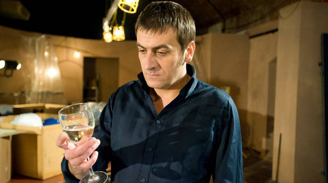 Peter Barlow turns to alcohol this week in the wake of his ex-wife Carla's disappearance