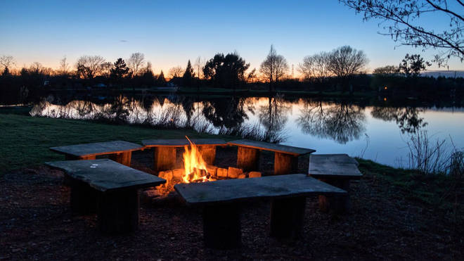 Wrap up warm and take your family down to the fire pit for a steamy hot chocolate