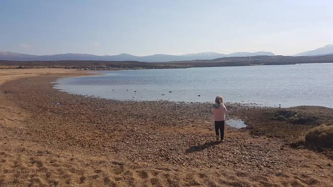Loch Laidon beach