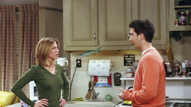 """Ross and Rachel&squot;s """"we were on a break!"""" is one of the show&squot;s most well-known phases"""
