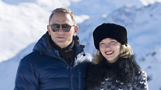 Daniel Craig and Léa Seydoux starred in the last Bond movie, Spectre