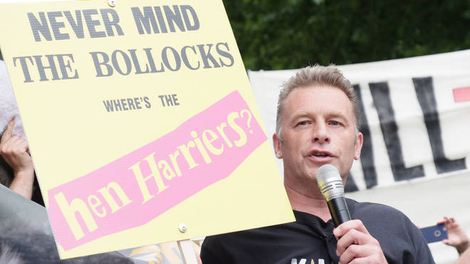 Animal rights activists protest in London
