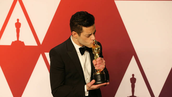 Rami has won an Oscar for his portrayal of Freddie Mercury