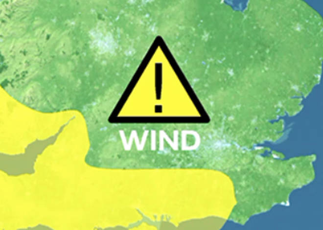 The Met Office has issued a yellow weather warning as Storm Hannah approaches