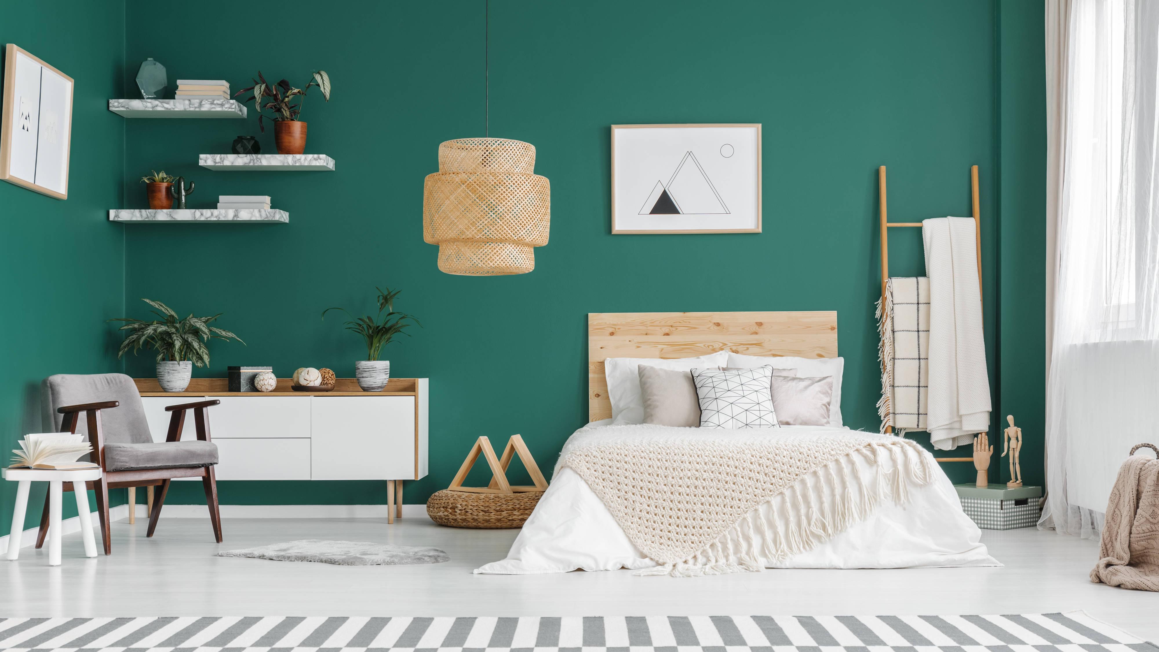 Resultado de imagem para bedroom green