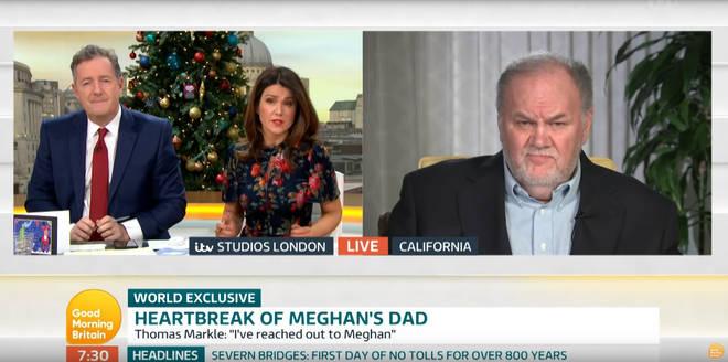 Thomas Markle reportedly won't meet Meghan Markle's child