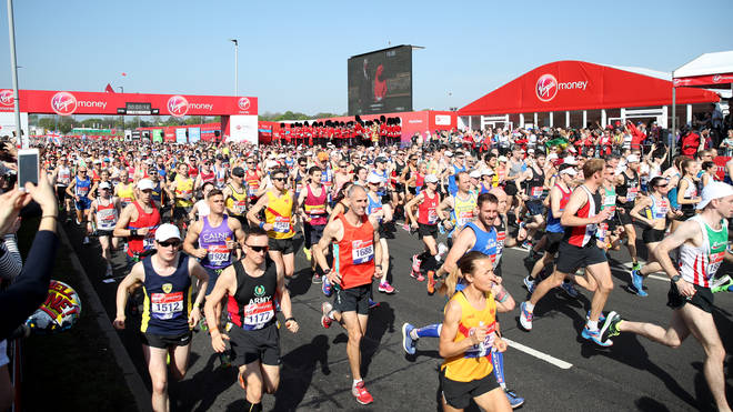 The London Marathon is just around the corner