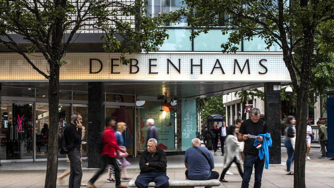 Debenhams to close stores in a bid to save the brand