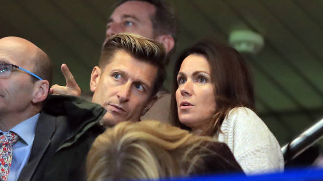 Susanna and Crystal Palace chairman Steve dated for nine months.