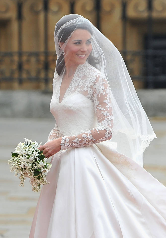 Kate Middleton's wedding dress remains to this day one of the most iconic