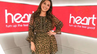 Kelly Brook looked sensational in the floral dress