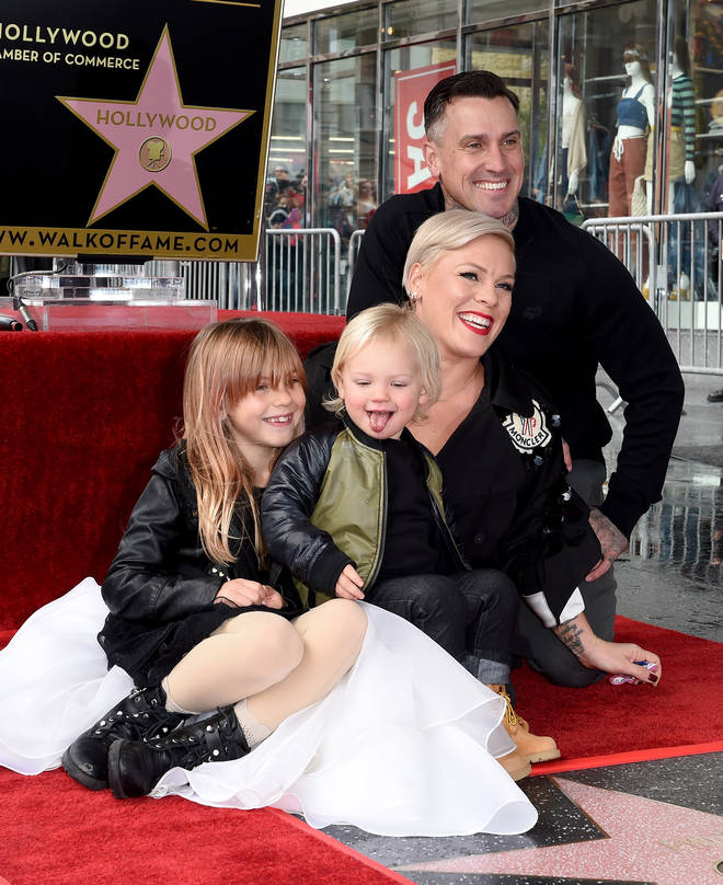 Pink now has two children; Jameson and Willow