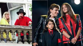 Michael Jackson and Debbie Rowe are parents to Prince and Paris Jackson