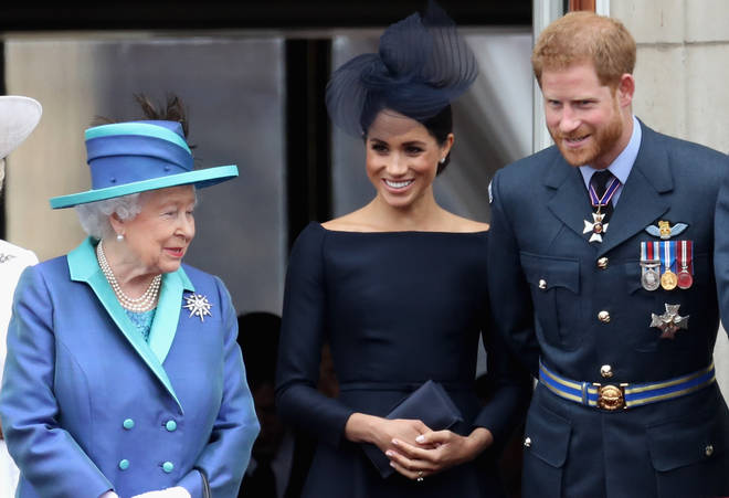 The Queen has reportedly visited the royal couple at Frogmore Cottage