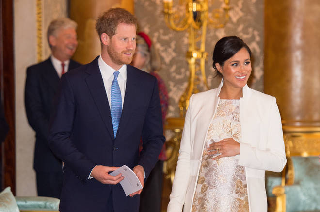 Baby Sussex is due imminently