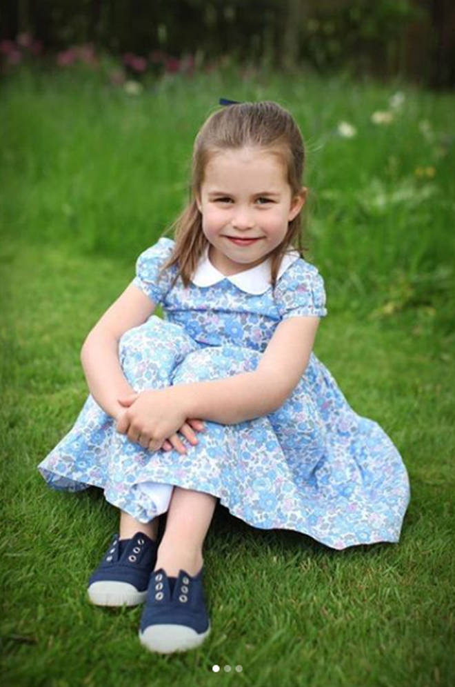 Princess Charlotte turns four today