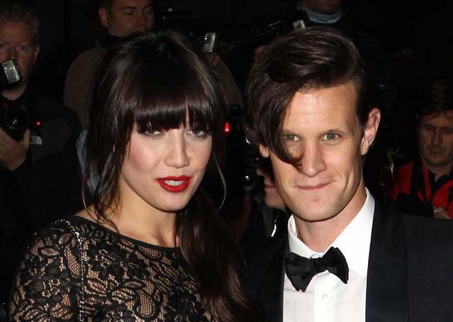 Matt Smith dated model Daisy Lowe before meeting Lily James