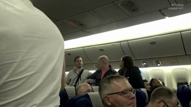 Dave was asked to leave the flight as he was too drunk