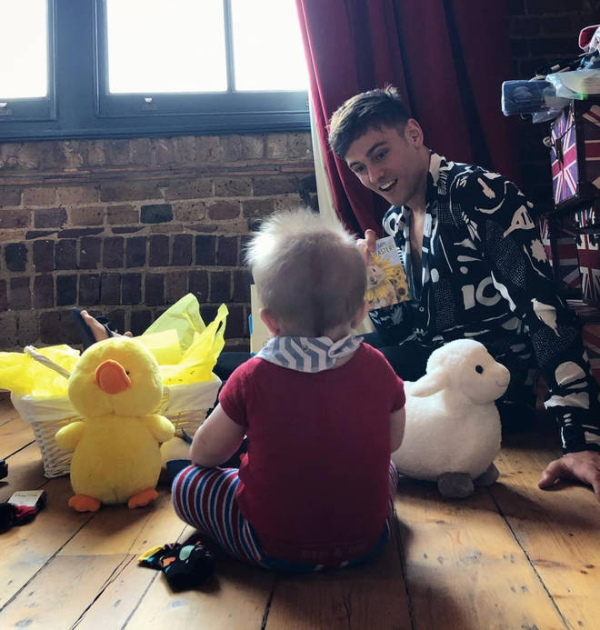 Tom Daley and his husband welcomed their son in 2018