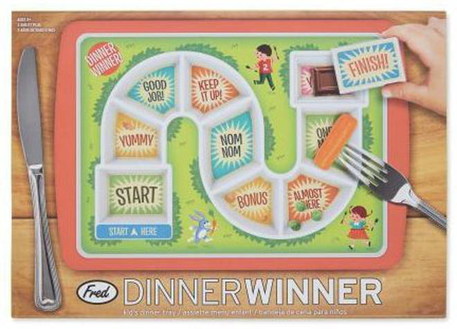 The Dinner Winner plate is only £6.99