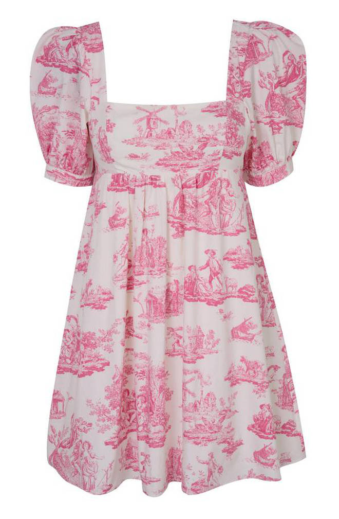 This pink dress will set you back £45