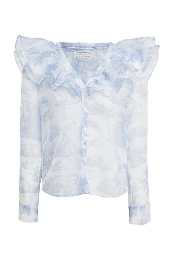 For £34 you can get your hands on this pastel blouse
