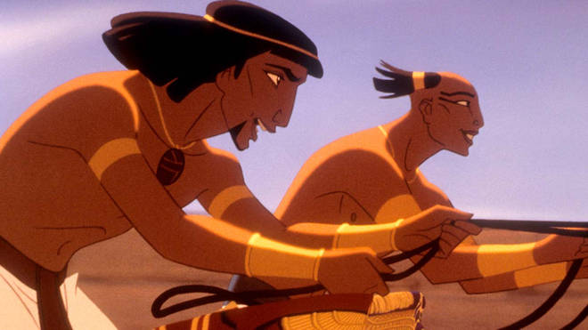 The Prince of Egypt film starred Val Kilmer as Moses and Ralph Fiennes as Rameses