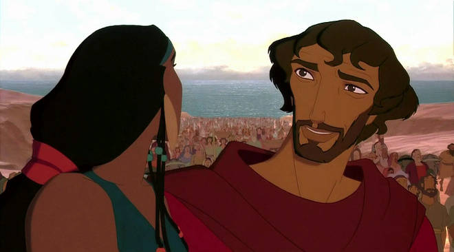 The Prince of Egypt tells the Old Testament story of Moses