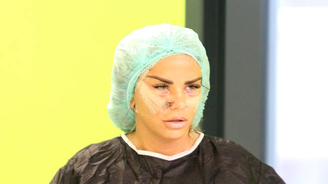 "Katie Price was forced to contact emergency medical services after her surgery ""oozed pus"""