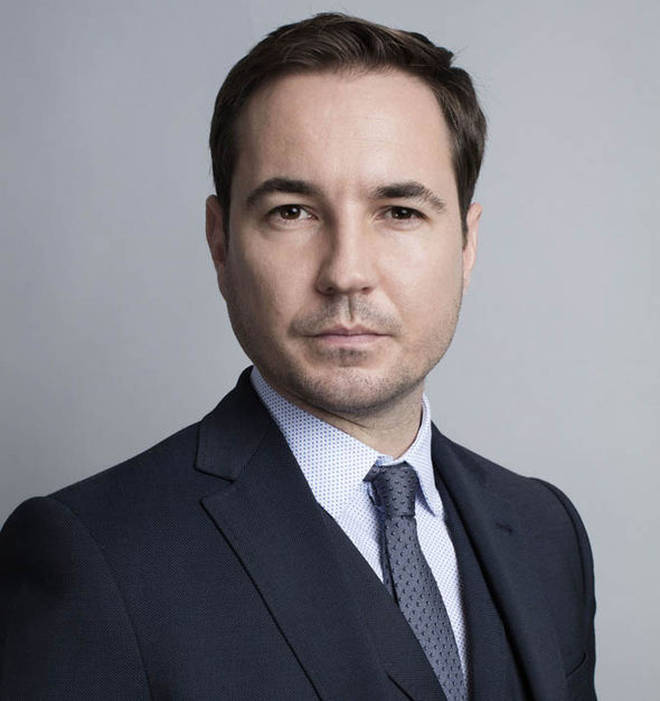 Line of Duty star Martin Compston has been involved in a crash, but has assured fans he's okay