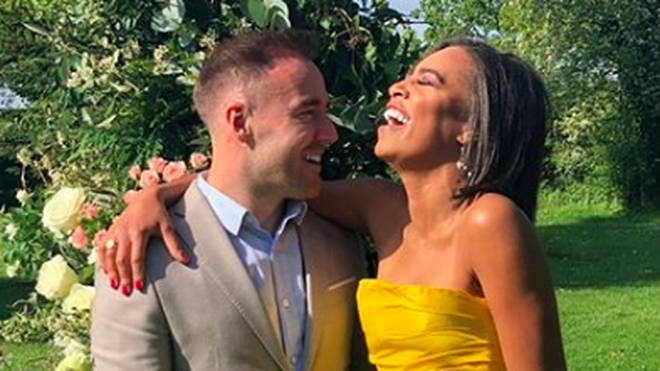 Corrie's Alan Halsall has confirmed his romance with girlfriend Tisha Merry following months of speculation.