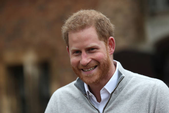 Prince Harry praised his wife