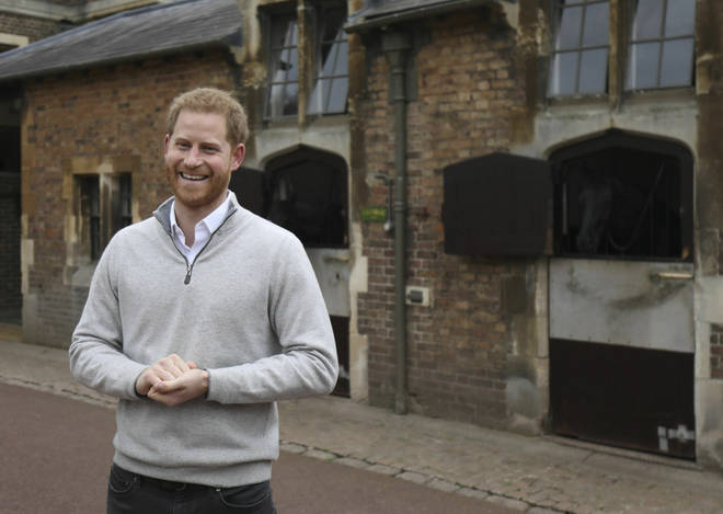 Prince Harry made a statement in Windsor