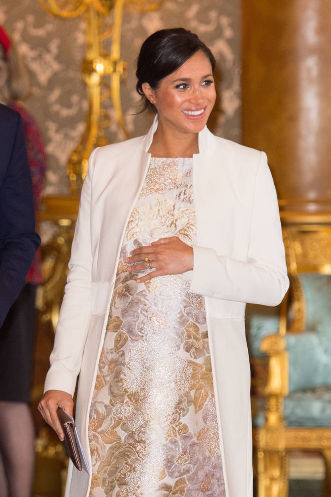 Meghan Markle gave birth to her son on May 6th